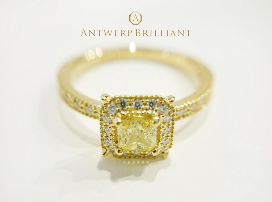"Princess Yellow AntwerpBrilliant ""Bruges"" Special Version- Fancies"