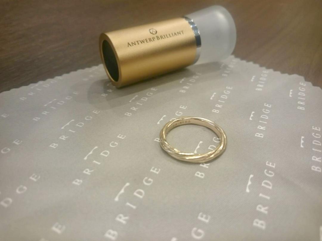 結婚指輪はお守りの1つ