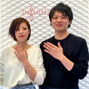 東京で結婚指輪のダイヤモンドはブリッジ銀座