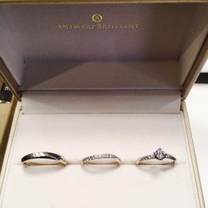 キラキラ好きな私は、ダイヤモンドラインの美しさがポイントです♡