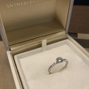 想像以上に美しいダイヤモンドです♡