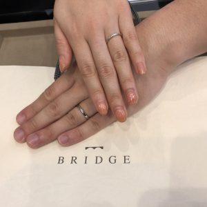 こんなにしっくりきた指輪は他にはありませんでした。