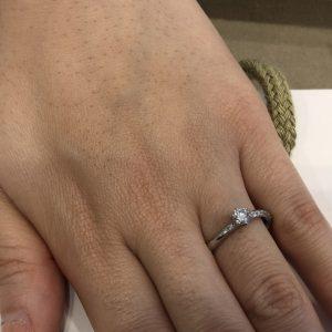 やはりダイヤモンド!この輝きは他にはありません。