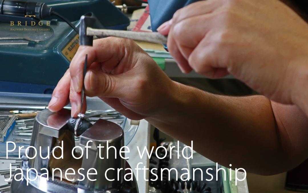 メイドインジャパン世界に誇る日本の職人技で仕上げる結婚指輪BRIDGE銀座