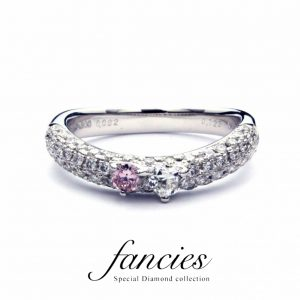 Mini Heart Diamond Pave Ring(Simoni)