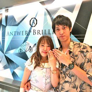 東京で婚約指輪はBRIDGE銀座