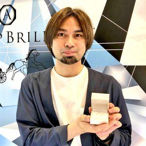 銀座で結婚指輪はマリッジリングのブリッジ銀座、東京唯一の店舗