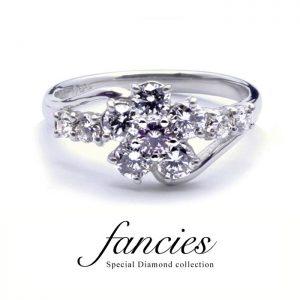 SAKURA Pink Diamond Ring