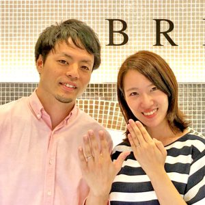 結婚指輪はブリッジ銀座マリッジリングとエンゲージリングセットが人気