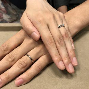 重ね付けの可愛い指輪を探していました♪