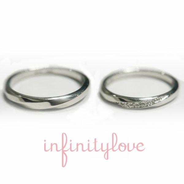 ジュピターは男女両方に人気の王道スタイルコンサバティブな結婚指輪でブリッジ銀座だけのオリジナル