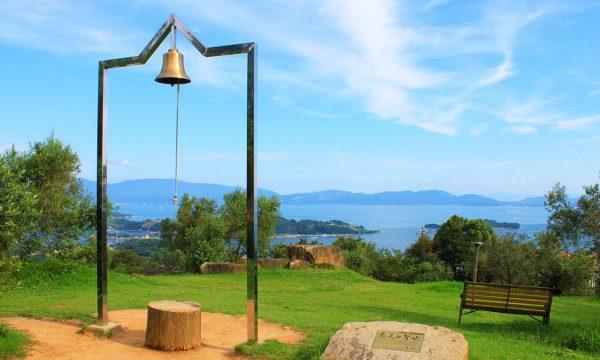 銀座のサプライズプロポーズ オリーブ園 幸福の鐘 岡山県