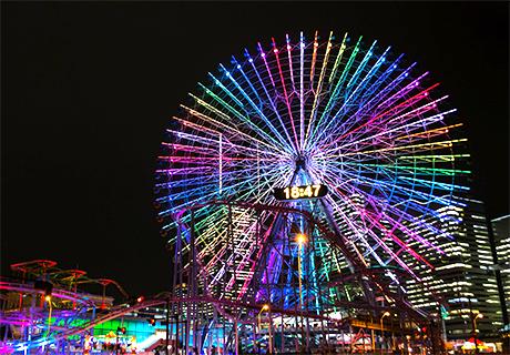銀座のサプライズプロポーズ コスモクロック21 神奈川県
