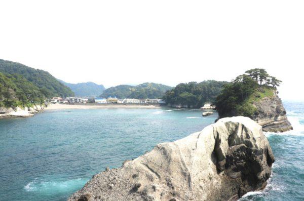 銀座のサプライズプロポーズ 西伊豆海岸トンボロ 静岡 堂ヶ島