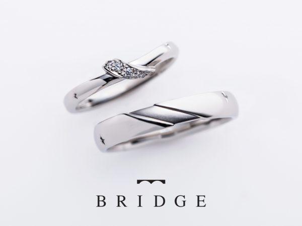 東京銀座の結婚指輪専門店BRIDGE銀座ではピンクダイヤモンドも充実