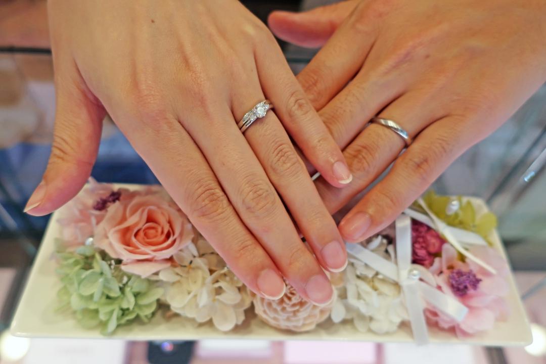 Lilly of the Valley たまたま通りかかって入ってみたら自分の理想の指輪に出会えました!