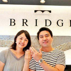 結婚指輪はブリッジ銀座へ