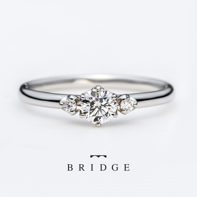 シンプル 指輪 サプライズ モチーフ プラチナ ダイヤモンド 人気 彼女 銀座 東京