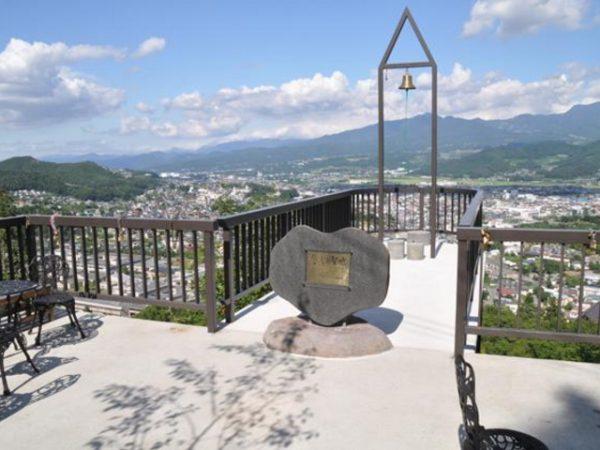 銀座のサプライズプロポーズ 花咲山展望台 山形県