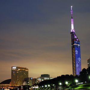 銀座のサプライズプロポーズ福岡タワー