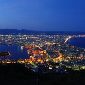 銀座のサプライズプロポーズ函館山  北海道
