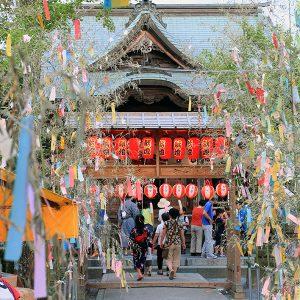 銀座のサプライズプロポーズ七夕神社