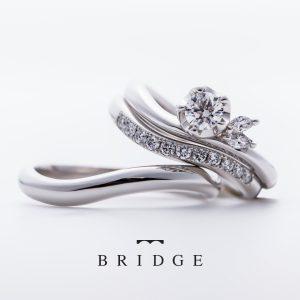 椿モチーフのエンゲージリング大輪のユキツバキの花に思いを込めてブリッジ銀座東京