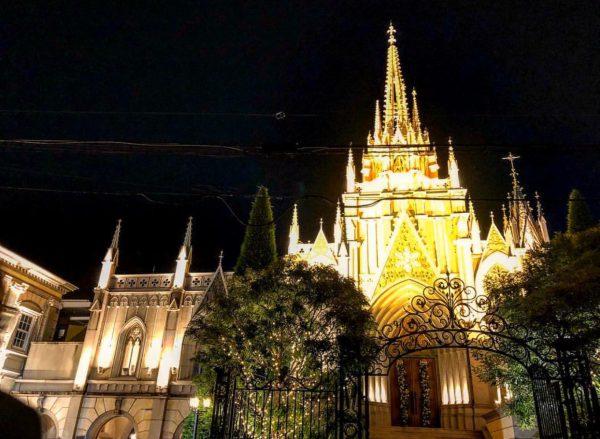 銀座のサプライズプロポーズ 青山セントグレース大聖堂 東京