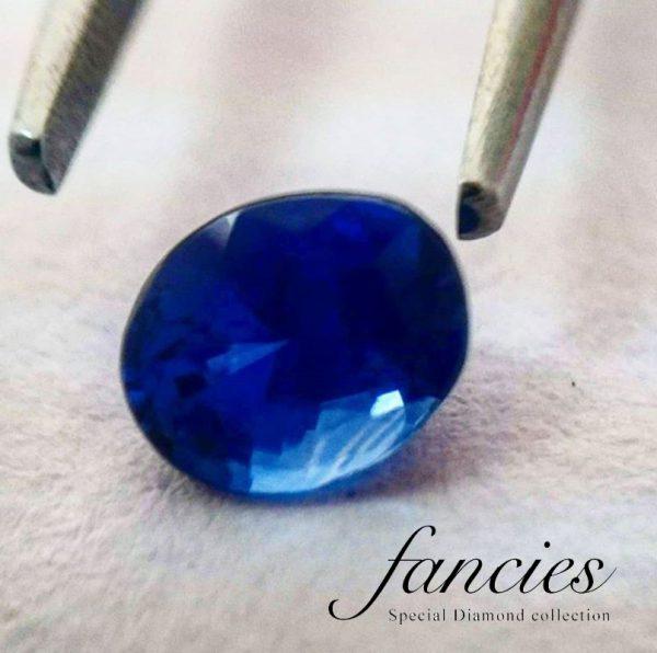 Royal Velvet Blue – Sri Lanka unheated sapphire