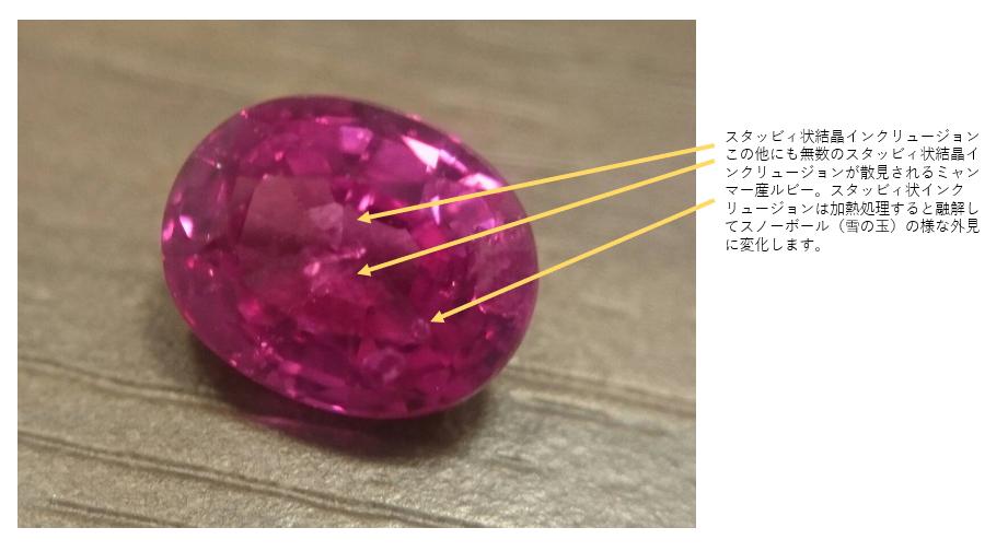ルビー婚約指輪はブリッジ銀座アントワープブリリアントギャラリーのファンシーズへ