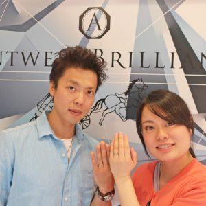 Asterism  シンプルでかわいい結婚指輪と欲しかった指輪を買えて満足です!