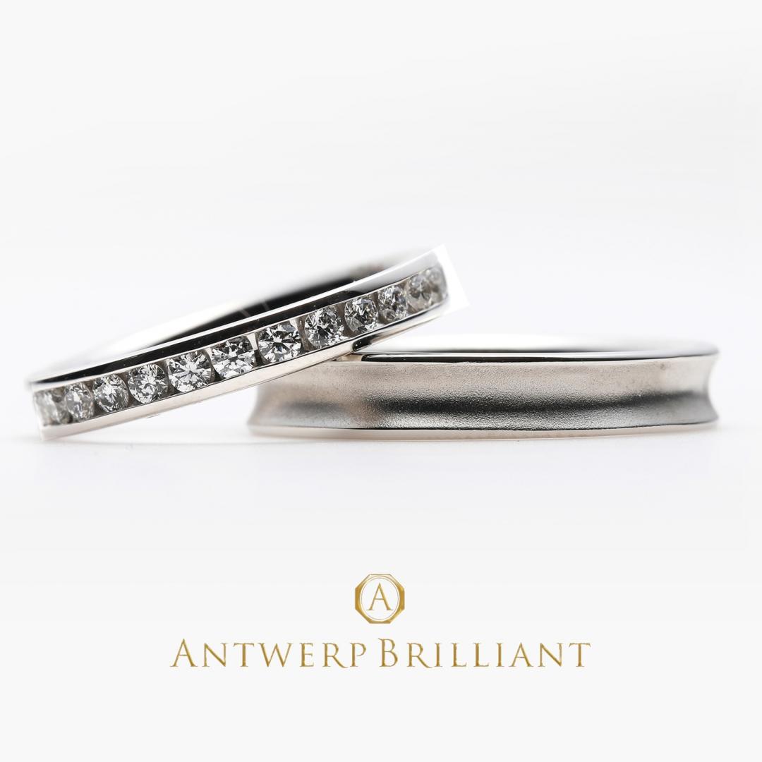 銀座で人気のダイヤモンドが美しいエタニティリング