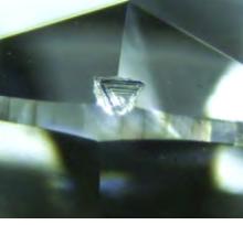 ダイヤモンド内部の美しい内包物はPタイプとEタイプに大別される