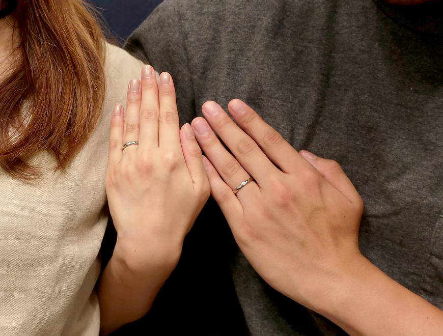 着け心地の良い指輪を楽しく選べました!