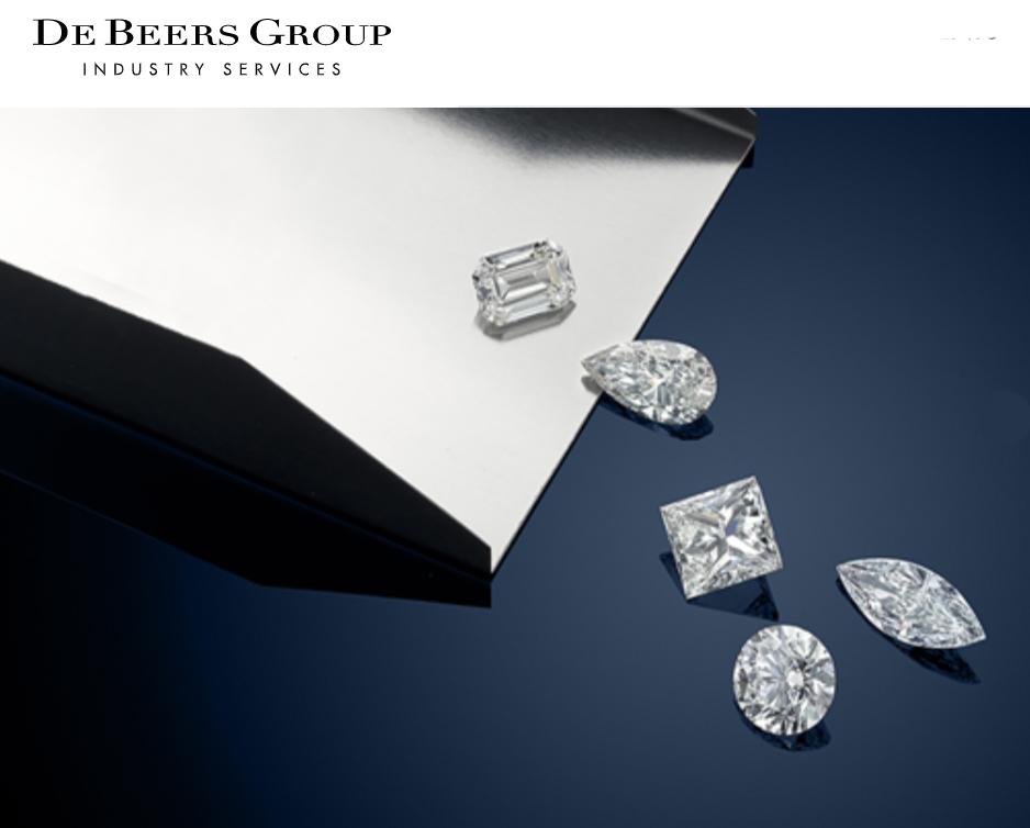 ダイヤモンドのエキスパート、デビアスグループで産出した原石を研磨仕上げしています。
