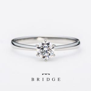 1石シンプルダイヤモンドsimple-diamondソリテールエンゲージリング王道スタイル婚約指輪プロポーズ鉄板の人気で花嫁の憧れ