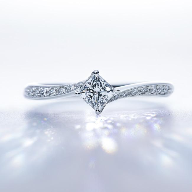 ダイヤモンド・トリプルエクセレント・プリンセスカット01