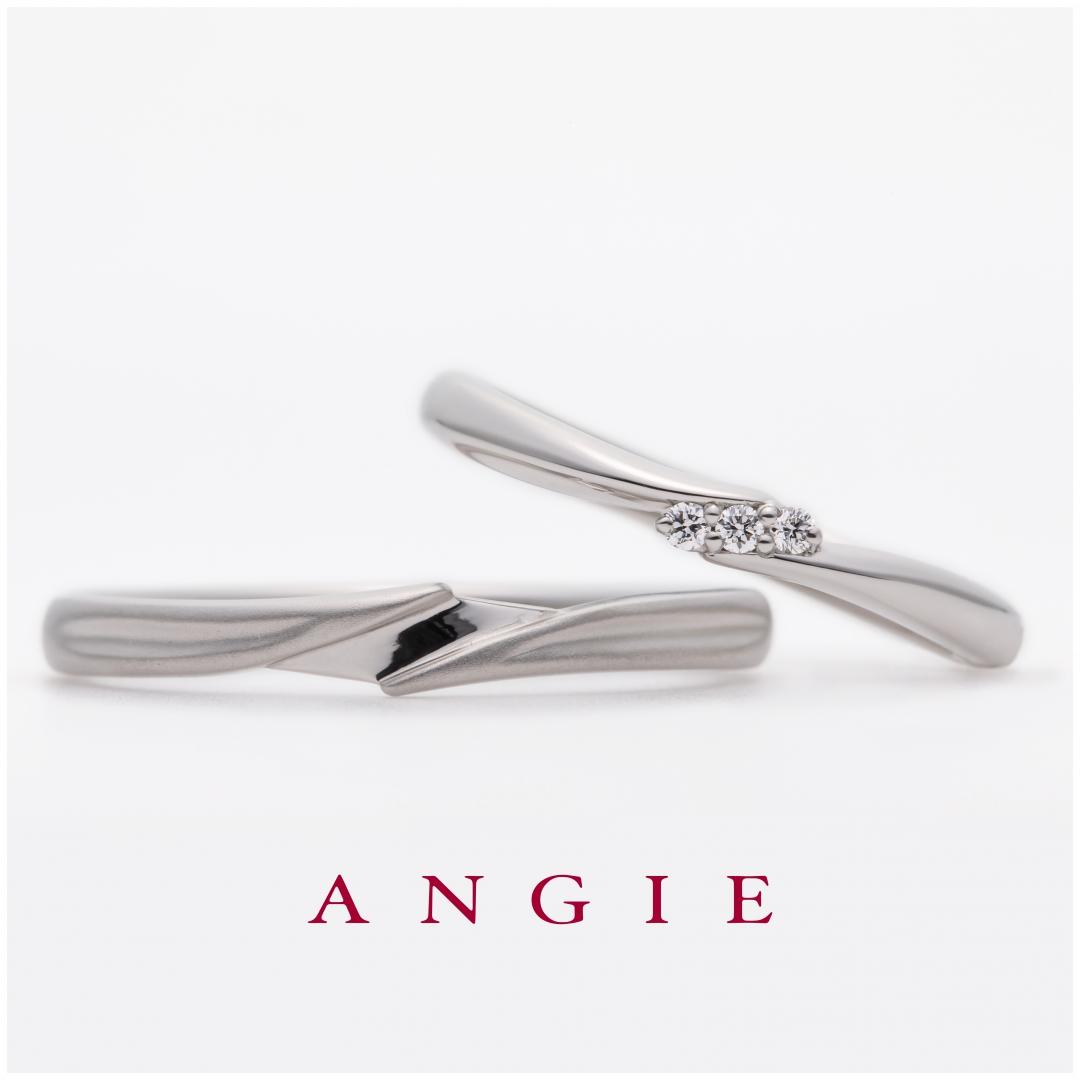 アンジー09おもいやり ペア 10万円 結婚指輪