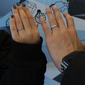 ブルーダイヤモンドで理想のリングをカスタマイズ!