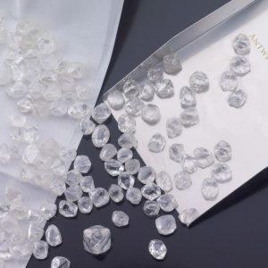 ダイヤモンド原石を集めて作る高品質パーセル