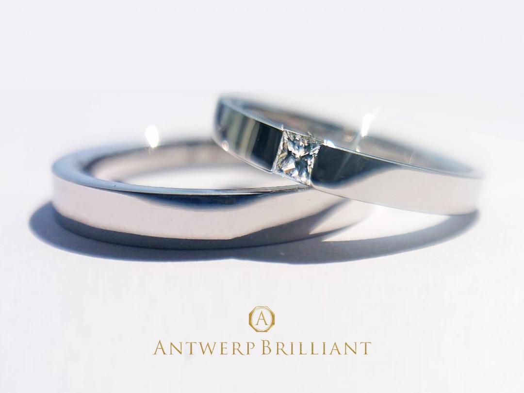 シンプルでオシャレな洗練された結婚指輪