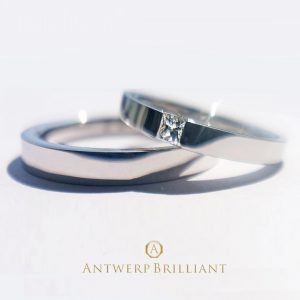 D line Princess cut Wedding Band