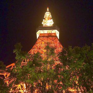 銀座のサプライズプロポーズ東京タワー  東京 芝公園