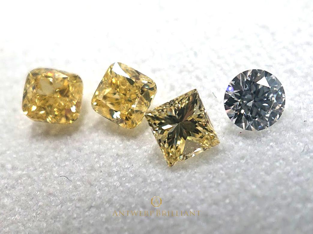 ダイヤんモンドは複数同じパーセルに入って居る事も在る
