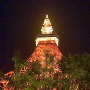東京で人気のプロポーズスポットである東京タワーです