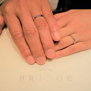 幸せな偶然  偶然見つけたお店で大切な結婚指輪を購入しました