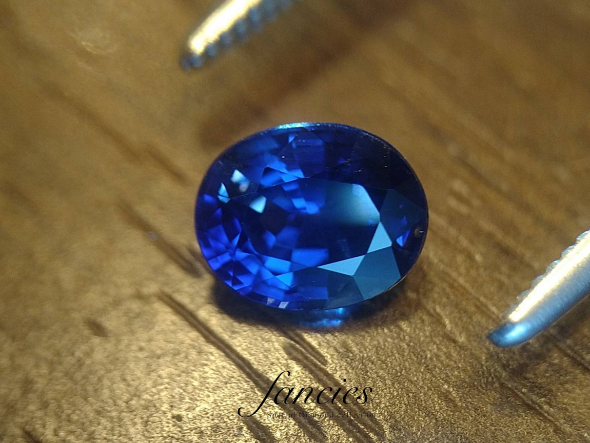 ロイヤルブルーはサファイヤの最高色