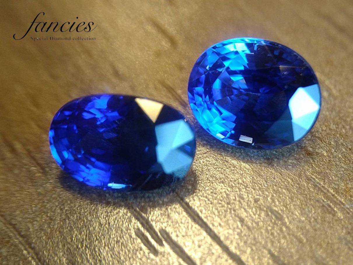 コーンフラワーブルとロイヤルブルーはサファイヤの最高色