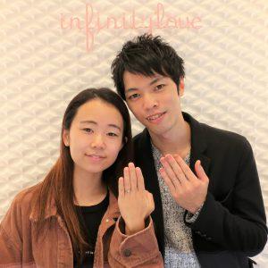 Sweet heartの婚約指輪&結婚指輪 相手の理想と自分の理想を叶えられるプロポーズを・・・