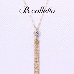 Dia long necklace